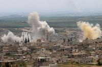 उत्तर पश्चिम सीरिया में संघर्ष में 35 लड़ाकों की मौत
