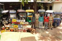 ई-रिक्शा, बैटरी चोरी करने वाले गिरोह के तीन सदस्य काबू