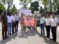 सुंदरनगर में छात्रों ने निकाली रैली, मतदान के प्रति जागरूक किए लोग