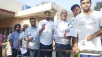 लोकसभा चुनाव का आखिरी दौर जारी, क्रिकेटर हरभजन सिंह ने भी डाला वोट
