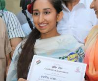 हरसिमरत बादल की बेटी सहित युवाओं ने पहली बार किया मतदान,मिला प्रशंसा पत्र