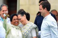 कल दिल्ली में मायावती, राहुल-सोनिया गांधी से करेंगी मुलाकात