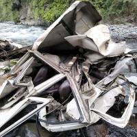 दर्दनाक हादसा : 150 मीटर गहरी खाई में गिरी जीप, 3 की मौत