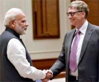 मोदी को जीत पर बिल गेट्स ने दी बधाई, उल्लेखनीय सुधार की उम्मीद जताई
