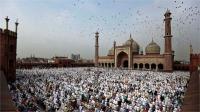 सऊदी अरब में आज मनाया जा रहा ईद का जश्न