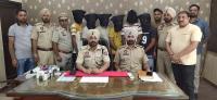 आई.ए. स्टाफ की पुलिस ने लूटपाट करने वाले गिरोह के 6 सदस्यों को किया गिरफ्तार