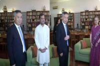 चीनी प्रतिनिधिमंडल ने सोनिया-राहुल गांधी से की मुलाकात