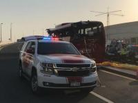 दुबई बस दुर्घटना में जिंदा बचे शख्स ने सुनाई आपबीती, कहा- चारों तरफ बिखरे थे शव