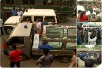 बीजेपी अपने समर्थकों के शव को ले जाना चाहती थी कोलकाता, पुलिस ने रोका, मचा बवाल