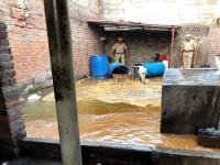 हिमाचल-पंजाब पुलिस की नशा माफिया पर बड़ी कार्रवाई, 5 शराब की भट्ठियां जब्त-महिला गिरफ्तार