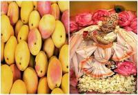 वडोदरा के कृष्ण मंदिर में आमों से किया जाता है श्री कृष्ण का मनोहार