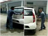 कार धोने वाले वायरल वीडियो में नया खुलासा, स्कूल की ही एक टीचर पर लगे गंभीर आरोप
