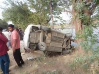 कार व मोटरसाइकिल की टक्कर में 1 की मौत