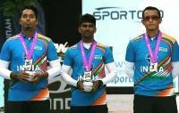 भारतीय रिकर्व पुरुष टीम ने विश्व चैंपियनशिप में जीता रजत