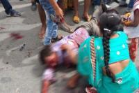 रुद्रपुरः टेंपो और टैंकर की भिडंत में एक की मौत, अन्य 8 गंभीर रूप से घायल