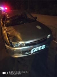 कार ने मारी व्यक्ति को टक्कर, मौत