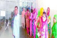 जिले के निजी अस्पतालों में ओ.पी.डी. रही बंद, मरीज परेशान