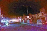 शहर में स्ट्रीट लाइटों की रोशनी लम्बे समय से गायब