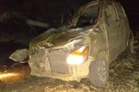 कार के अनियंत्रित होकर गहरी खाई में गिरने से 8 साल की मासूम की मौत, अन्य 3 की हालत गंभीर
