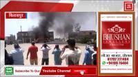 Bilaspur में Haryana Roadways की बस को लगी आग