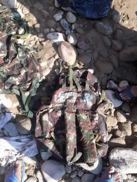 चक्की खड्ड से 4 सैन्यनुमा बैग मिले