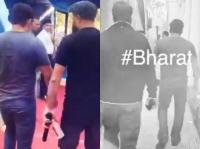 दिल्ली में शुरू हुई ''भारत'' की शूटिंग, सेट से सामने आई सलमान की वीडियो