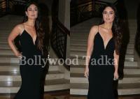 सेक्सी ड्रेस पहन फिल्म ''मोगली'' के प्रमोशन में पहुंची करीना, साफ नजर आए हाॅट क्लीवेज