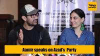 Aamir Khan's Funny reaction on Son Azad Rao's Costume Party