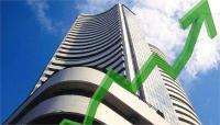 शेयर बाजारः सेंसेक्स में 500 अंकों की बढ़त, निफ्टी 10870 के करीब