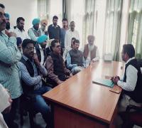 सरकारी कॉलेज मोहकम खां का भाजपा के पूर्व प्रदेश अध्यक्ष कमल शर्मा ने किया दौरा