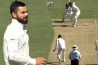 कोहली ने थामी गेंद, पहले ही गेंद पर IPL वाला रिकॉर्ड चूके