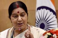 PM मोदी के हिंदुत्व पर सवाल उठाने पर सुषमा ने किया राहुल गांधी पर पलटवार