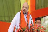 तेलंगाना में बोले शाह- कांग्रेस का मस्जिद से लगाव पर मंदिर से नहीं