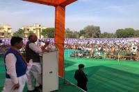 कांग्रेस में मुख्यमंत्री पद को लेकर कौन बनेगा करोड़पति जैसा माहौल- राजनाथ