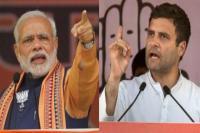 विधानसभा चुनाव: 5 राज्यों में PM मोदी ने 32 तो राहुल गांधी ने कीं 82 रैलियां