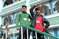 छात्रवृत्ति घोटाले को लेकर SFI ने किया धरना-प्रदर्शन