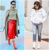 Winter Fashion: देसी गर्ल प्रियंका की ड्रेसेज से लें आइडिया
