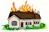 शादी वाले घर में आग का तांडव, लाखों का सामान जलकर खाक