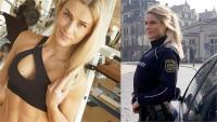 महिला पुलिस कर्मी के लिए सुंदरता बनी श्राप, खतरे में नौकरी