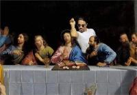 ईसा मसीह की विवादित तस्वीर वायरल, प्रकाशक और पत्रकार गिरफ्तार
