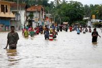 श्रीलंका में बाढ़ से 2 मरे, 86,000 से अधिक लोग प्रभावित