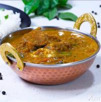 Varutharacha Meen Curry खाने में स्वादिष्ट
