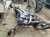 गाजीपुरः ट्रैक्टर और बाइक की जबरदस्त भिड़ंत, 2 की मौत
