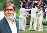 अमिताभ बच्चन ने भारतीय टीम के लिए किया ट्वीट, लिखा- वैल डन विराट, ठोक दिया कंगारू को