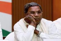 भाजपा धन के बल पर कांग्रेस विधायकों को खरीदने की फिराक में : सिद्दारामैया