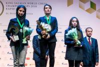 रूस की लागनों काटेरयना बनी विश्व महिला ब्लिट्ज़ शतरंज चैम्पियन