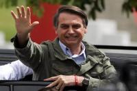 दक्षिणपंथी बोल्सोनारो ने ब्राजील के नए राष्ट्रपति के रूप में ली शपथ
