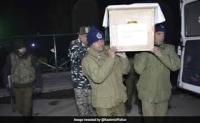 पुलवामा में suspected attack में SPO शहीद, सैनिक सम्मान के साथ आखिरी विदाई