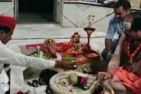 राजस्थान: मुस्लिम मंत्री ने पोखरण के शिव मंदिर में की पूजा