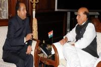 Home Minister राजनाथ सिंह से मिले CM जयराम, मांगी एक और महिला रिजर्व बटालियन
